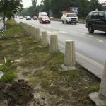 Зелени площи - Цариградско шосе (преди)