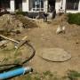 Кръстова вада - бетон и строителни бригади